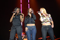 The Sugababes on Stage