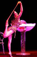 Dita Von Teese on Stage in Tokyo