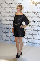 Sienna Miller in a Little Black Dress