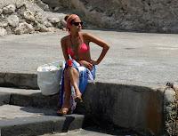 Eva Mendes Bikini Candids