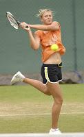 Maria Sharapova Wimbledon Warm up