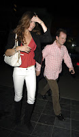 Kate Middleton in Tight White Jeans