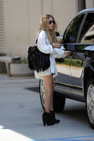 Mary-Kate Olsen Leggy Candids