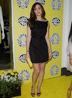 Emmy Rossum in a Little Black Dress