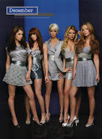 Girls Aloud 2008 Calendar