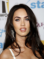 Megan Fox in a White Dress