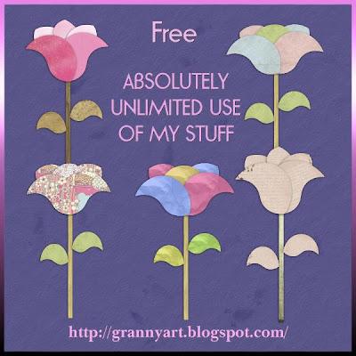 http://grannyart.blogspot.com/2009/10/paper-flwers-in-png-free.html