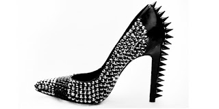 Fashion Find Must Have: Louis Goldin 6 inch studded Heels