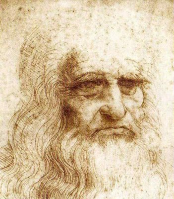maX's Blog: The True Face of Leonardo Da Vinci (hopefully)
