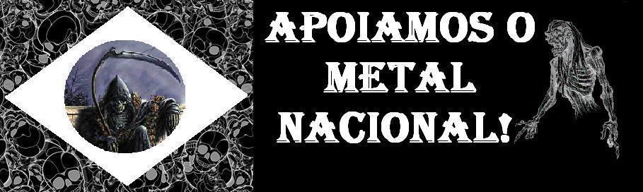 Apoiamos o Metal Nacional