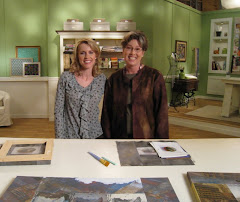 Pokey Bolton and myself at the Quilting Arts TV Studio
