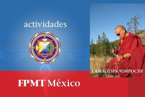 Actividades FPMT México 2012