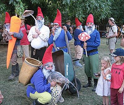 garden gnome. In 2008 we added garden gnomes