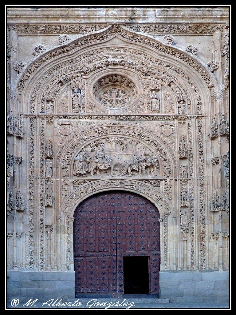 Capitanevs capitanevs puerta de ramos catedral nueva de for Puertas salamanca