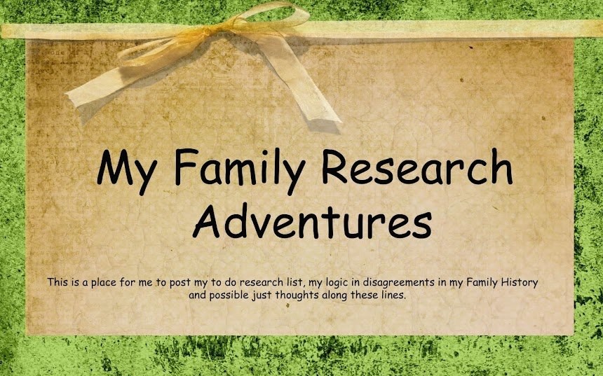 My Family Research Adventures