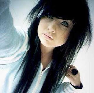 corte de cabelo emo fotos
