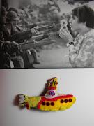 Paz y Amor en el Yellow Submarine paz amor submarino