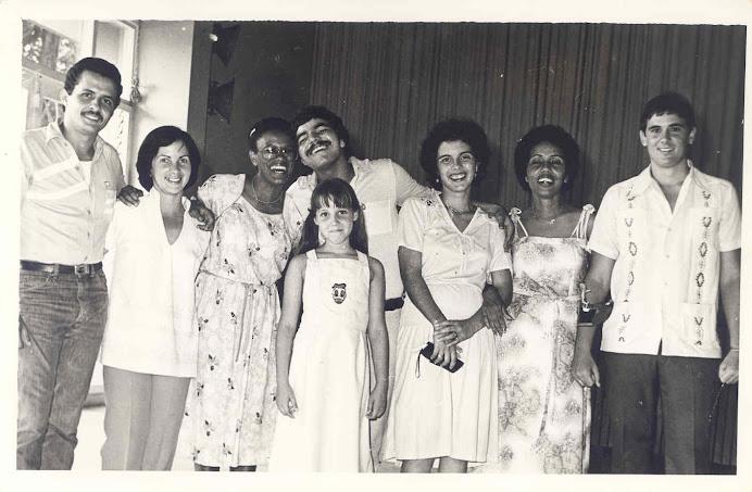 Fotos viejas de la primera Graduación en 1981