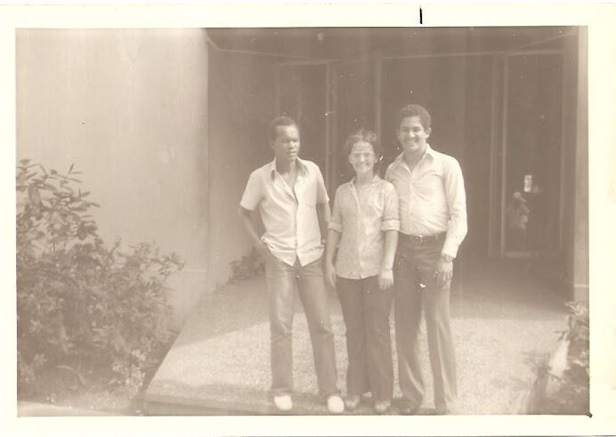 Nelson, Susy y Giovanni