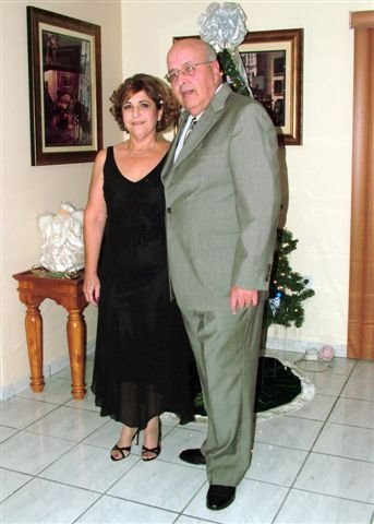 Lucía y su esposo