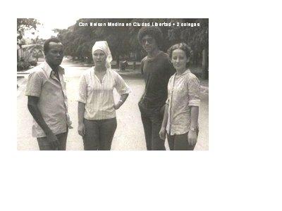 Nelson, Grey, Carlos y Sucy