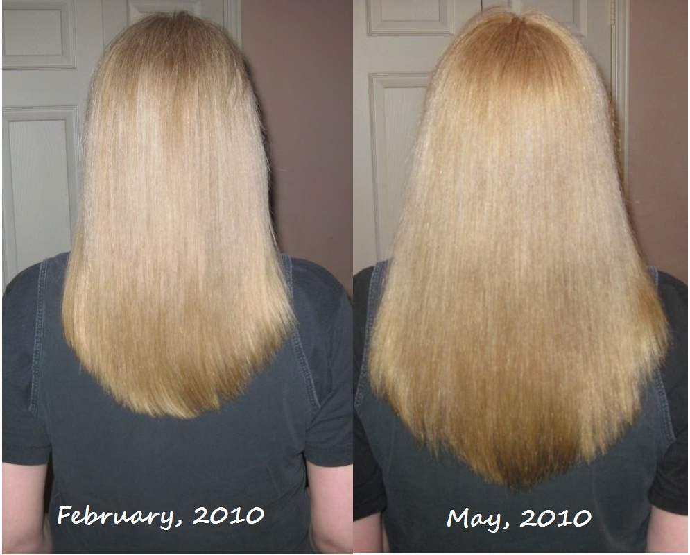 My Bumpy Middle Aged Long Hair Journey April 2010