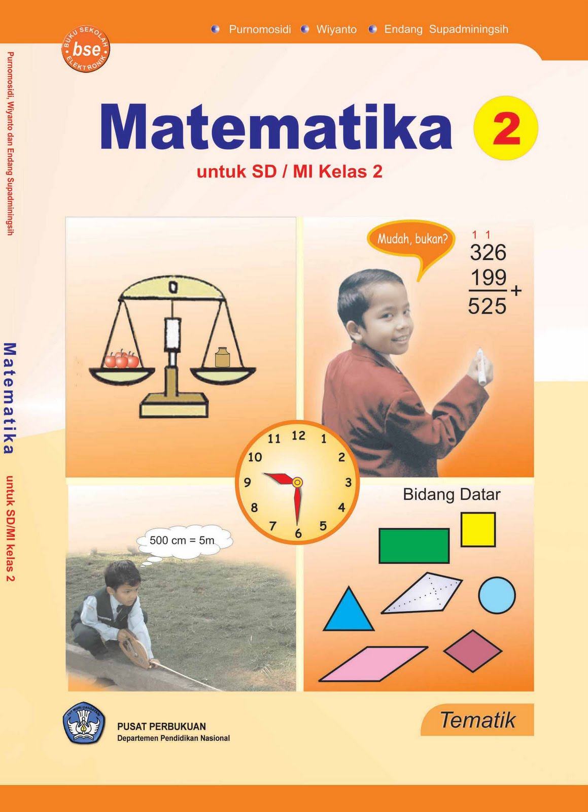 download rpp matematika kelas 2 sd