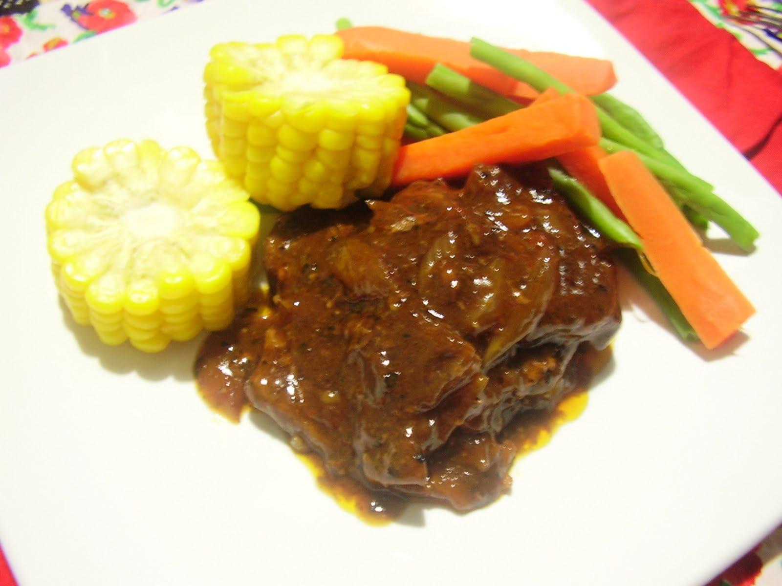Resep Masakan Keluarga Susono: BLACK PEPPER STEAK