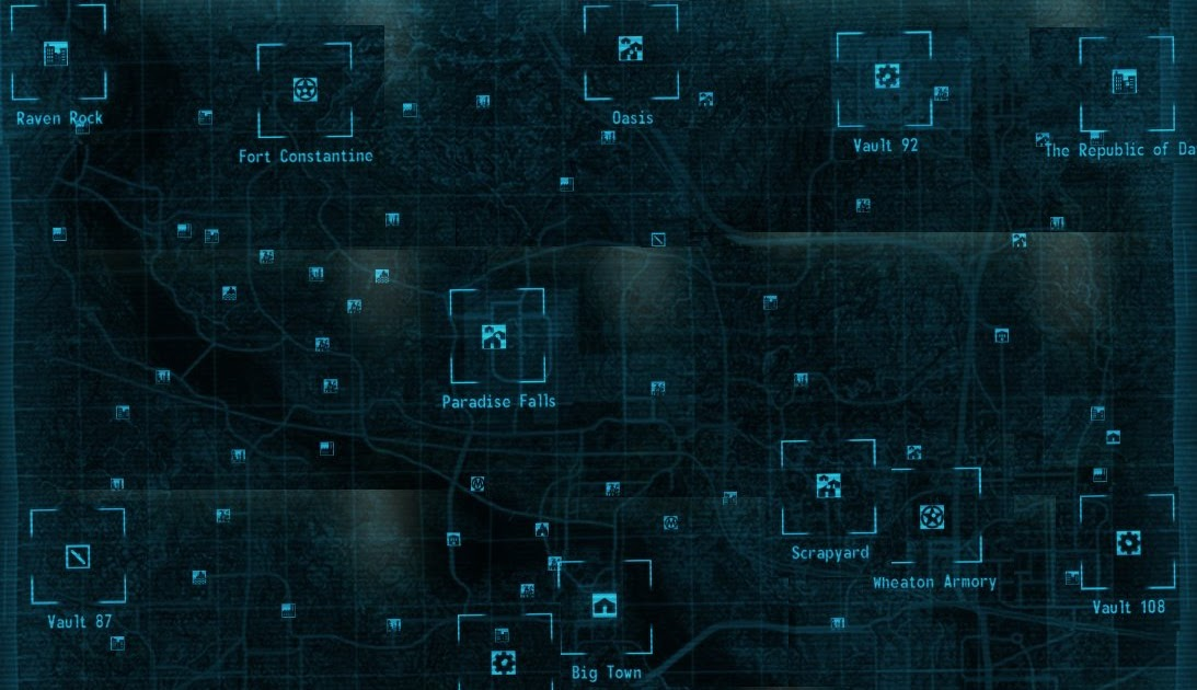 Fallout 3: The Most Complete Fallout 3 Map