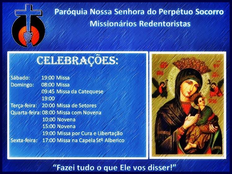 Celebrações da Paróquia