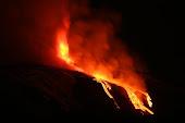 Mt. Etna erupting, 1/15/11