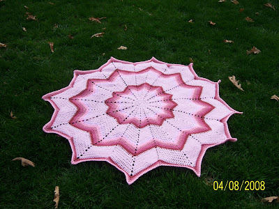 Irish Rose Round Medallion Free Pattern - Crochet -- All About