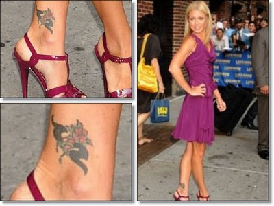 Celebrity Feet Tattoo