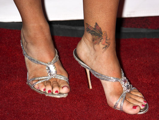heart tattoos for women on foot. heart tattoos on foot. foot
