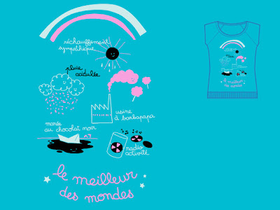 Monsieur Poulet tee shirt internet