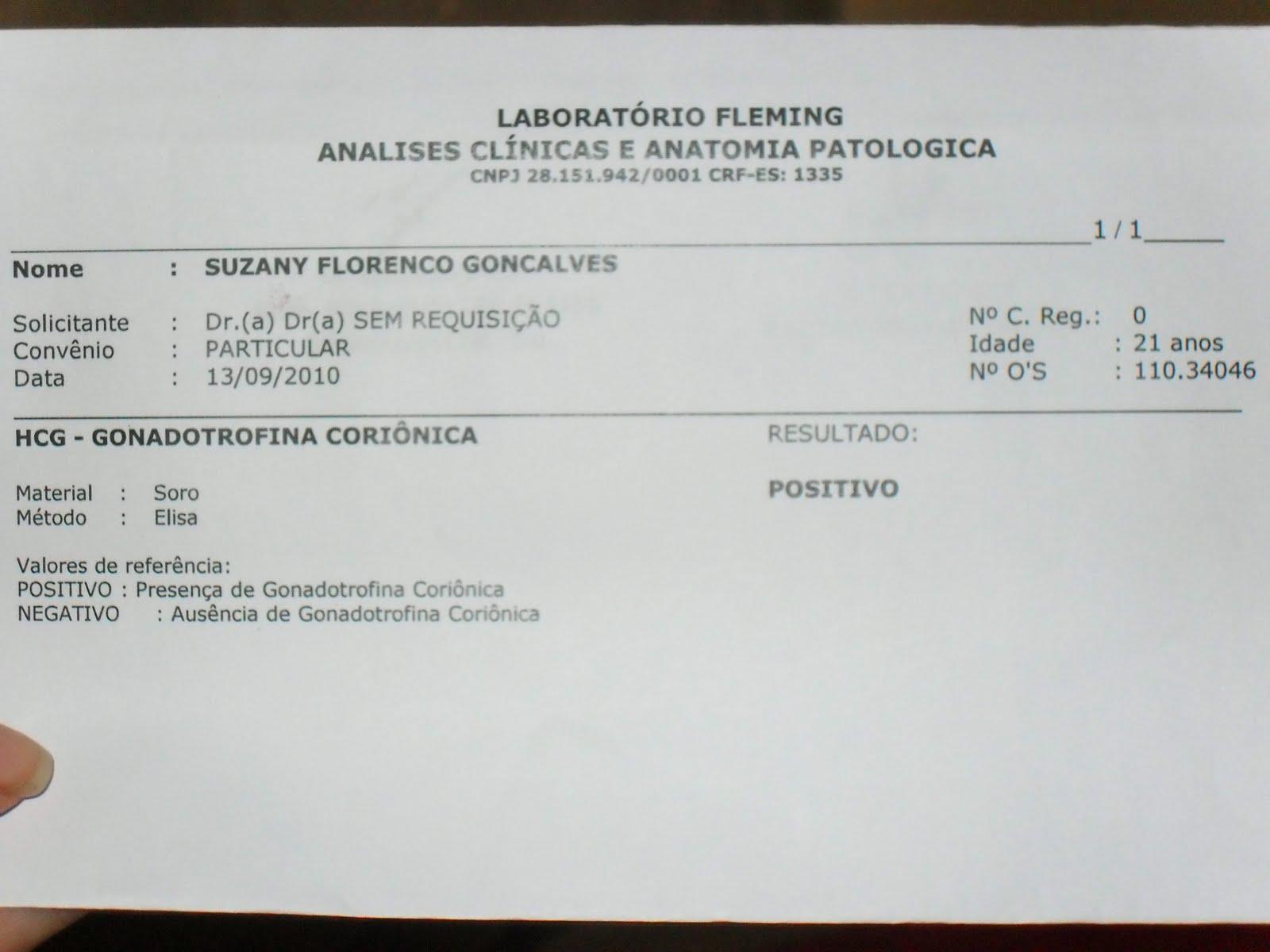 Exame hcg beta