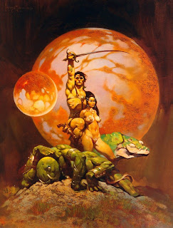 The legendary Frank Frazetta's iconic take on Carter