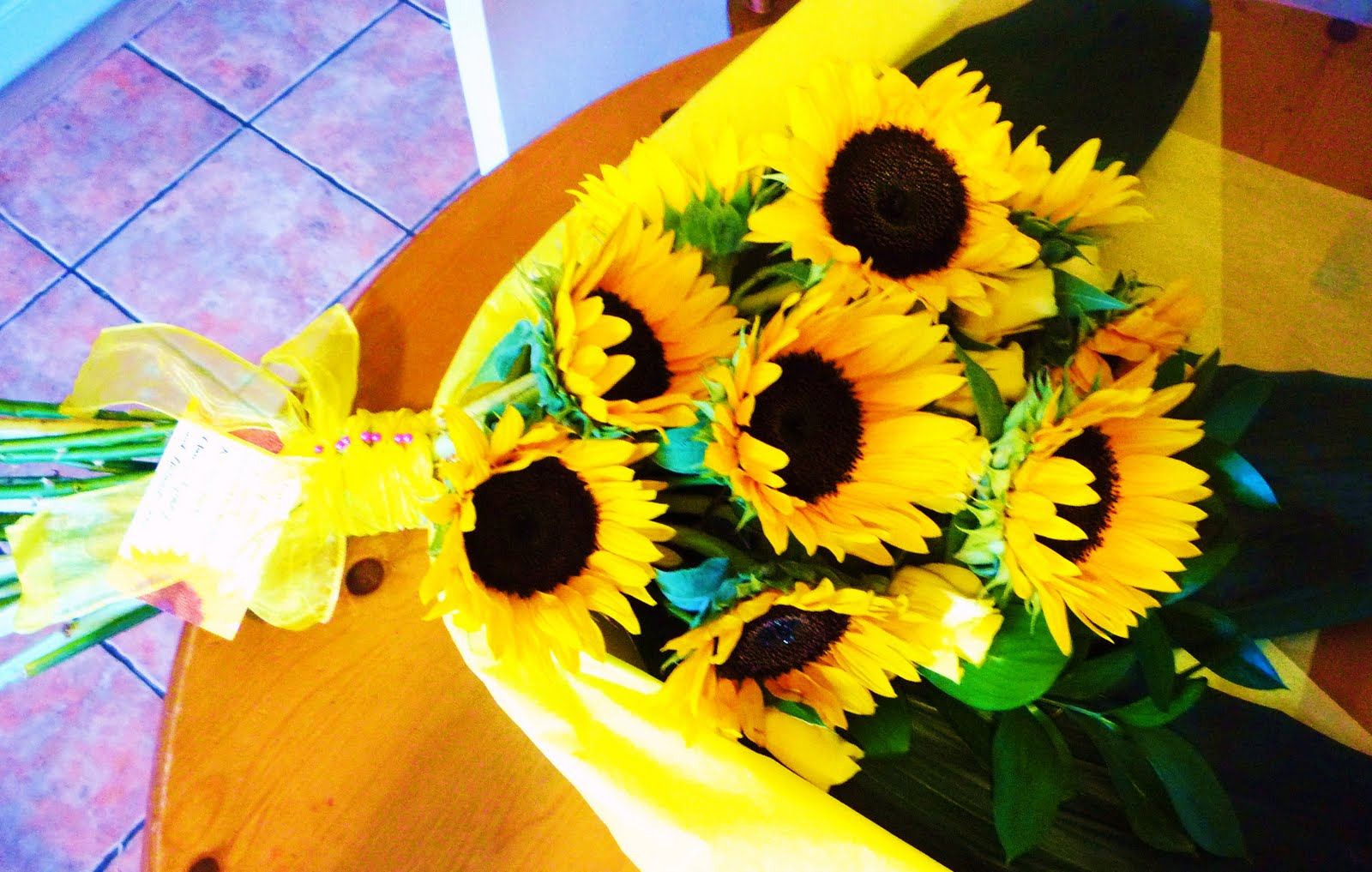 Sunflower Bouquet Floras Garden Creative Floristry Based In