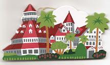 Hotel Del Coronado Christmas Ornaments