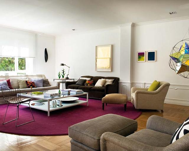 inserimento di un tappeto ampio a pavimento puo aiutare ad ad ...
