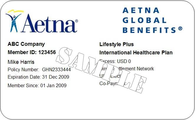Where Is My Policy Number On My Aetna Insurance Card | You