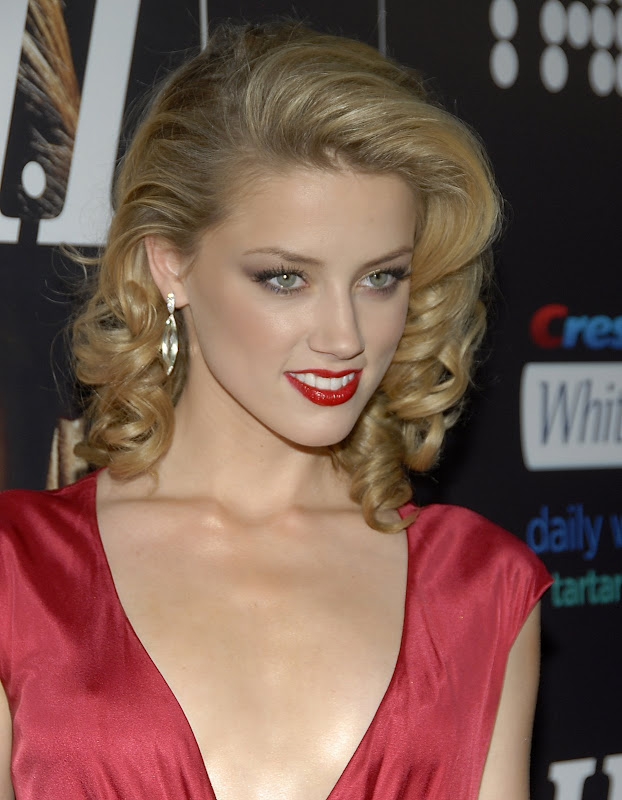 American Actress Amber Heard in 10th Annual Young Hollywood Awards