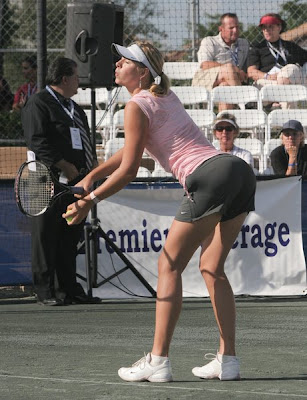 Maria Sharapova hot tennis pics