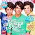 Jonas Brothers in Seventeen Magazine - June 2009