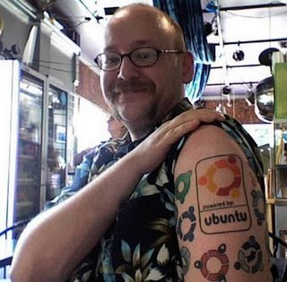 tatoo gnu linux tatuagem