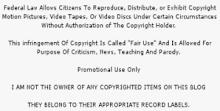 CopyRight on Media