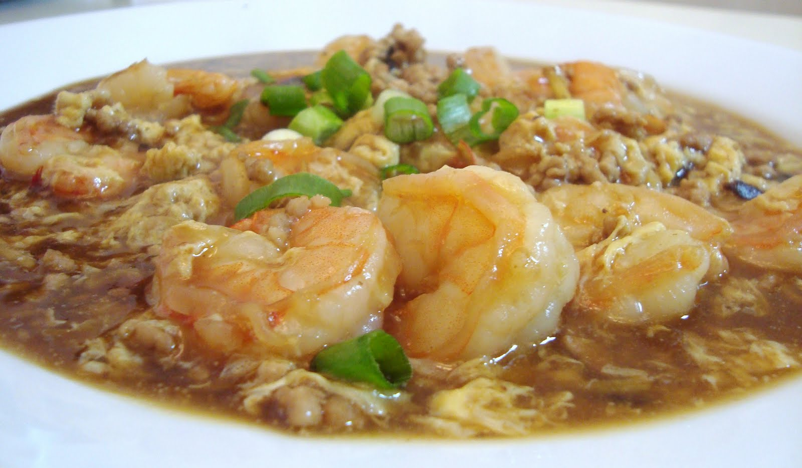 Shrimp with lobster sauce is a popular Cantonese dish with a loyal fan ...