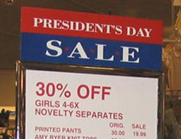 Presidents' Day 2009