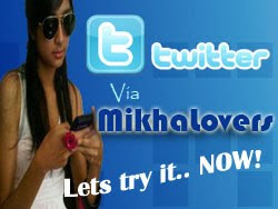 Tweeting via MikhaLovers™
