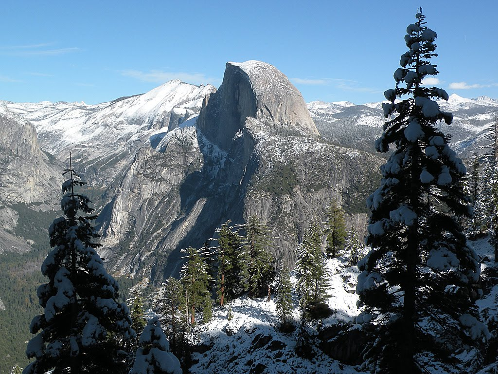 how to get to four mile trail yosemite